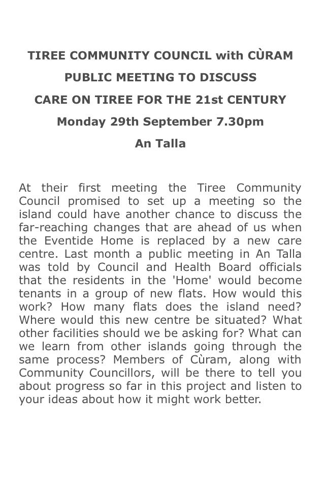 Curam TCC meeting poster