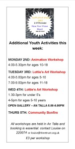 youth work week poster