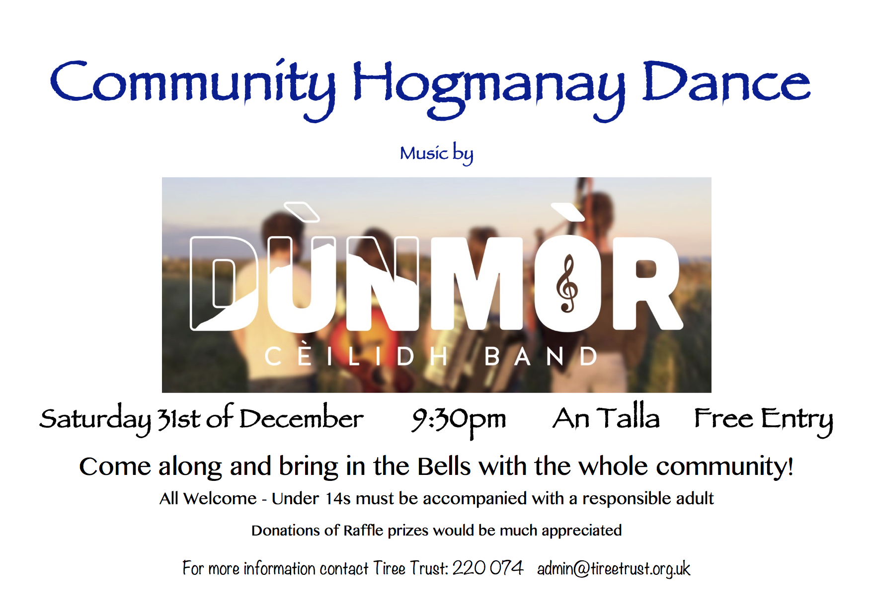 Community Hogmanay Dance
