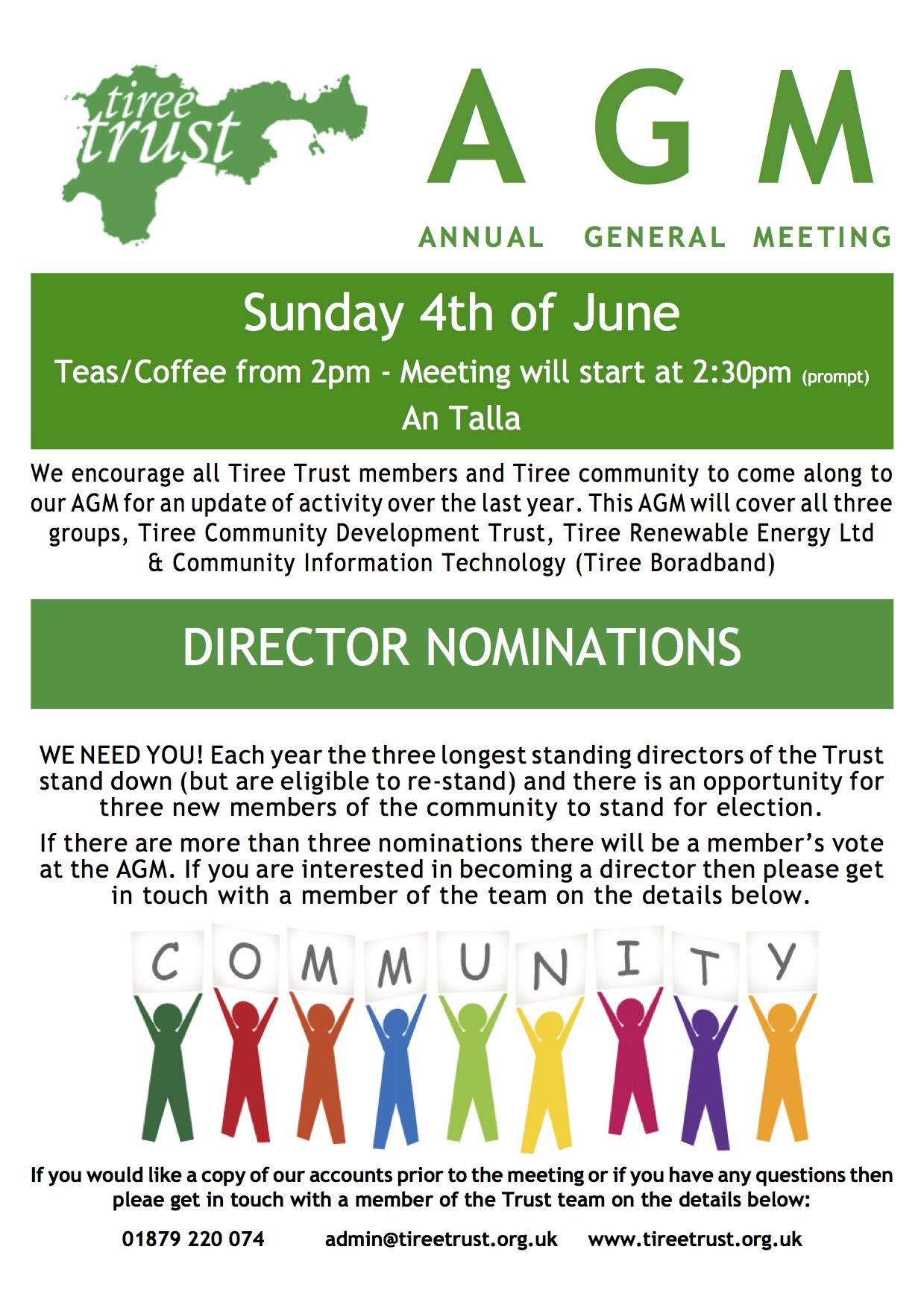 Trust Group AGM – June 4th 2017!
