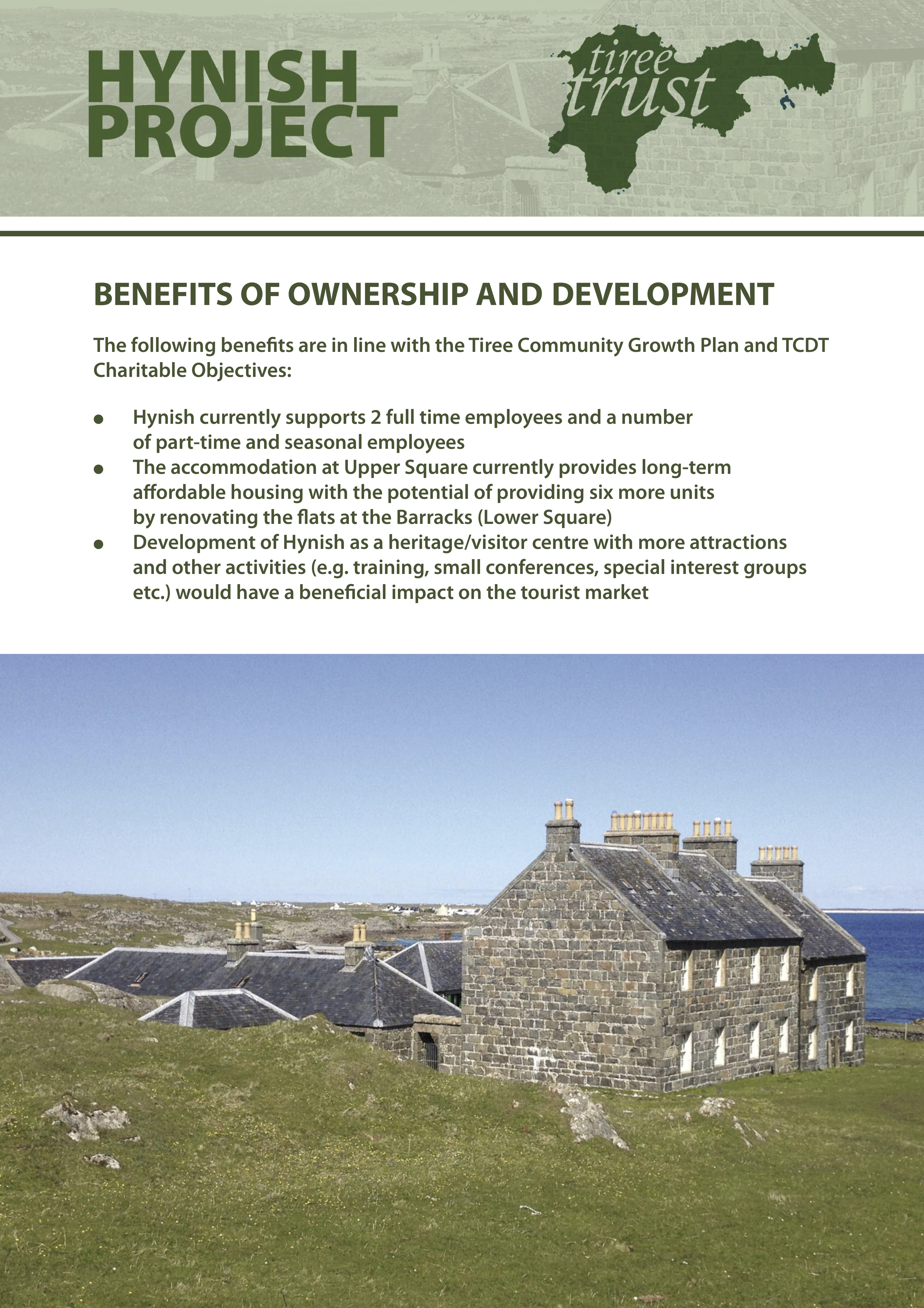 Hynish Community Ownership Tiree Community