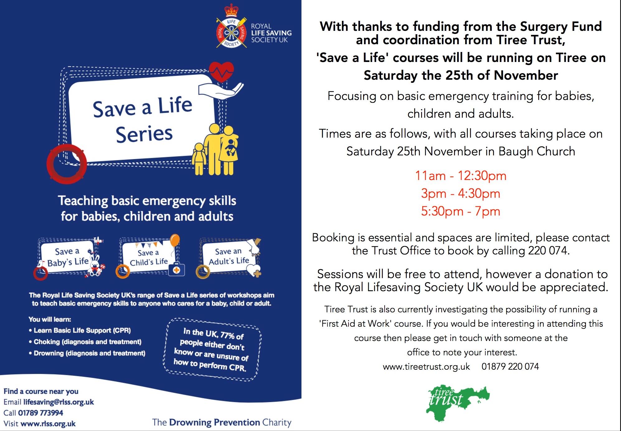 Save a Life Course