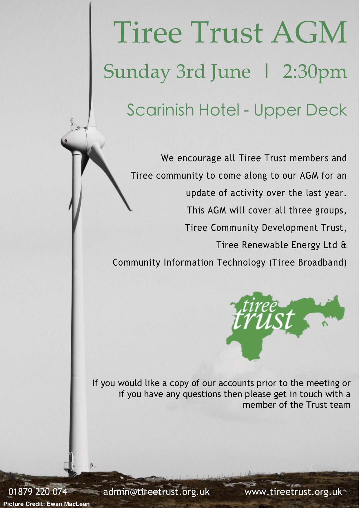 Annual General Meeting – Tiree Trust