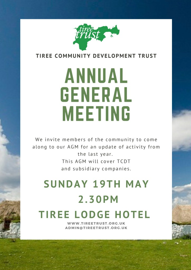 TRUST AGM – 19th May