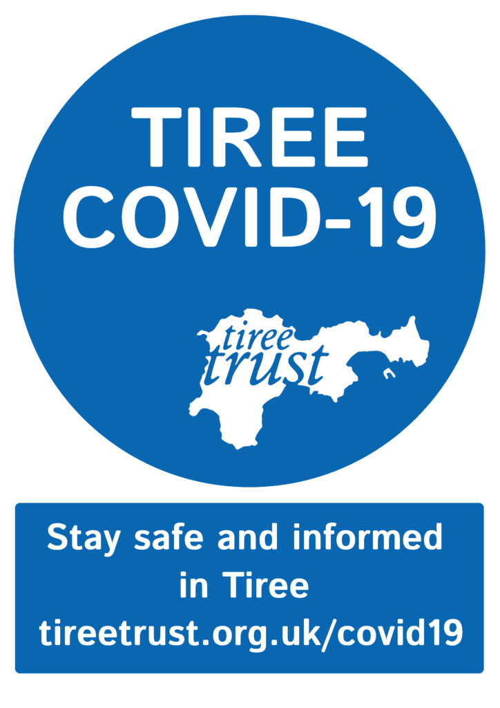 Tiree Covid 19 Logo